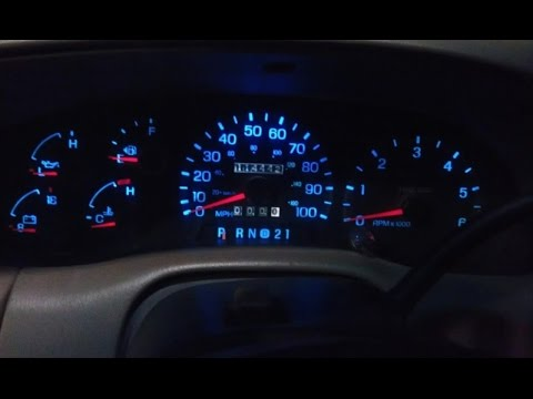 Howto Replace an Instrument Cluster  Speedometer 1997 Ford F250, F150  YouTube
