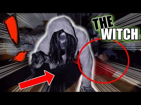 *INSANE* WE WERE ATTACKED BY A WITCH AT 3 AM!! (SHE TRIED TO SACRIFICE HYPE MYKE!!)