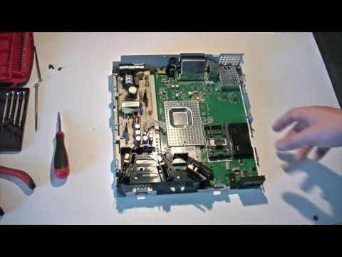 Démontage et analyse rapide du décodeur Canal+ Le Cube