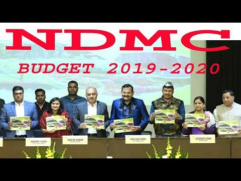 #NDMC चैयरमेन नरेश कुमार ने NDMC बजट को मिडिया कर्मियों के सामने पेश किया