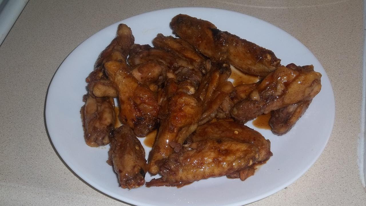 Frozen Chicken Wings Cooked In The Toaster Oven Youtube