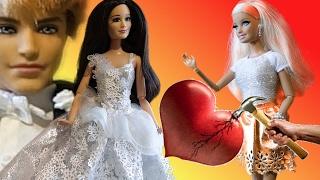 Барби 2017 Свадьба Кена и Ракель Барби в шоке, игры в куклы Барби сериал