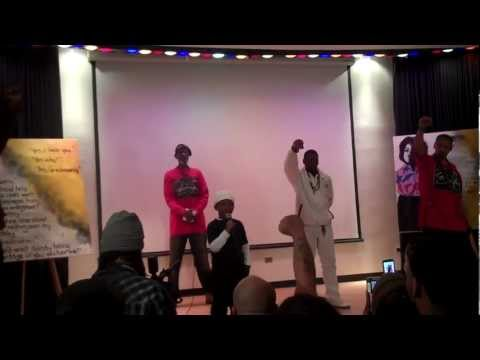 Culture Is A Weapon!!! Black Panther Event 2012.mp4