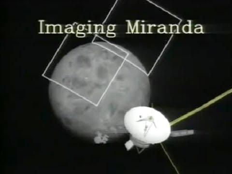 Voyager 2 Flies Over Uranus