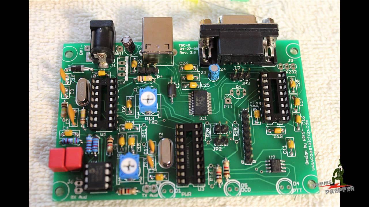 Coastal Chipworks TNC-X Packet Modem Kit