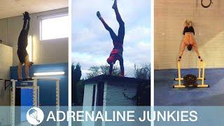 Real Life Spiderman Does Impressive Stunts