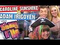 SHAKE IT UP Cast Interview ADAM IRIGOYEN & CAROLINE SUNSHINE (TINKA) with PIPER REESE