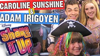SHAKE IT UP Cast Interview ADAM IRIGOYEN & CAROLINE SUNSHINE (TINKA) with PIPER REESE