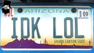 Funny and Creative Vanity License Plates