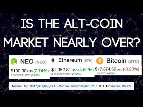 $1000 ETH & $100 NEO | Alt-Coin Market Coming To An End...??