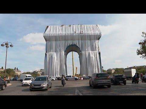 شاهد: إتمام عملية لف قوس النصر بباريس تكريما للفنان البلغاري كريستو…  - 22:54-2021 / 9 / 14