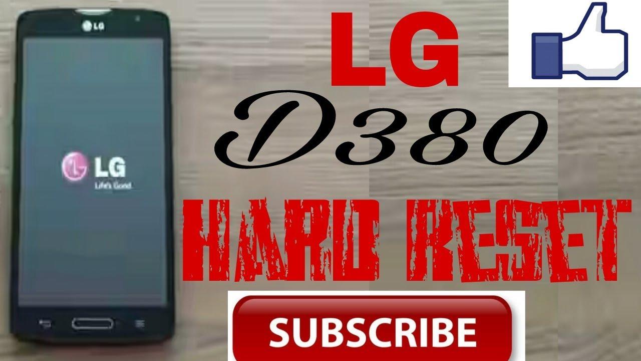 LG D380 Hard Resat / LG D380 Unlock pattan lock Remove///