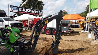 Video still for Avant Loader with Backhoe Attachment - Remote Control - ICUEE