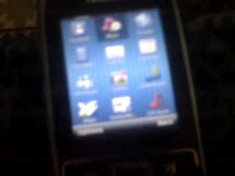 First time android on Nokia E51