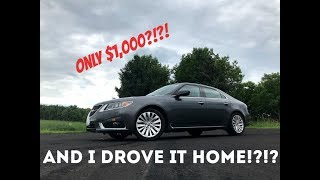 I bought the CHEAPEST 2010 Saab 9-5 Aero XWD in the USA - EP1