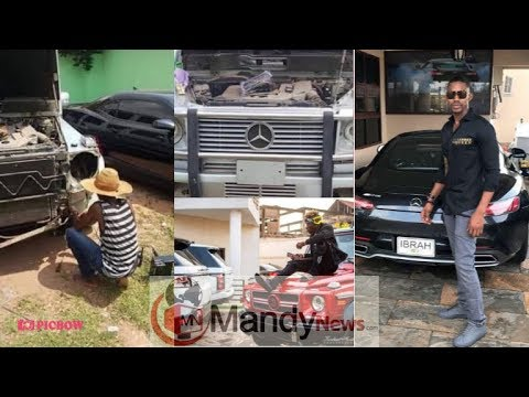 IBRAH ONE EXPO$ES SHATTA WALE OVER A FAKE G-WAGON