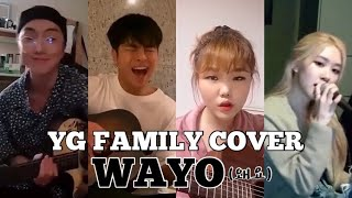 "Download lagu YG FAMILY MAIN VOCAL COVER ""WAYO (왜요)"" BANG YEDAM #TREASURE"