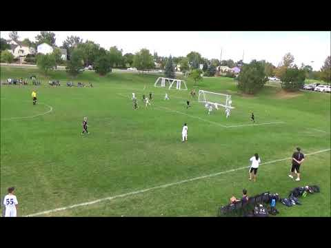 Broomfield Blast 06 Boys Magista vs  Arsenal Colorado Royal 9 24 2016 Partial