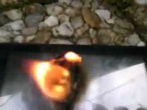 Lg kp 501 en train de bruler...