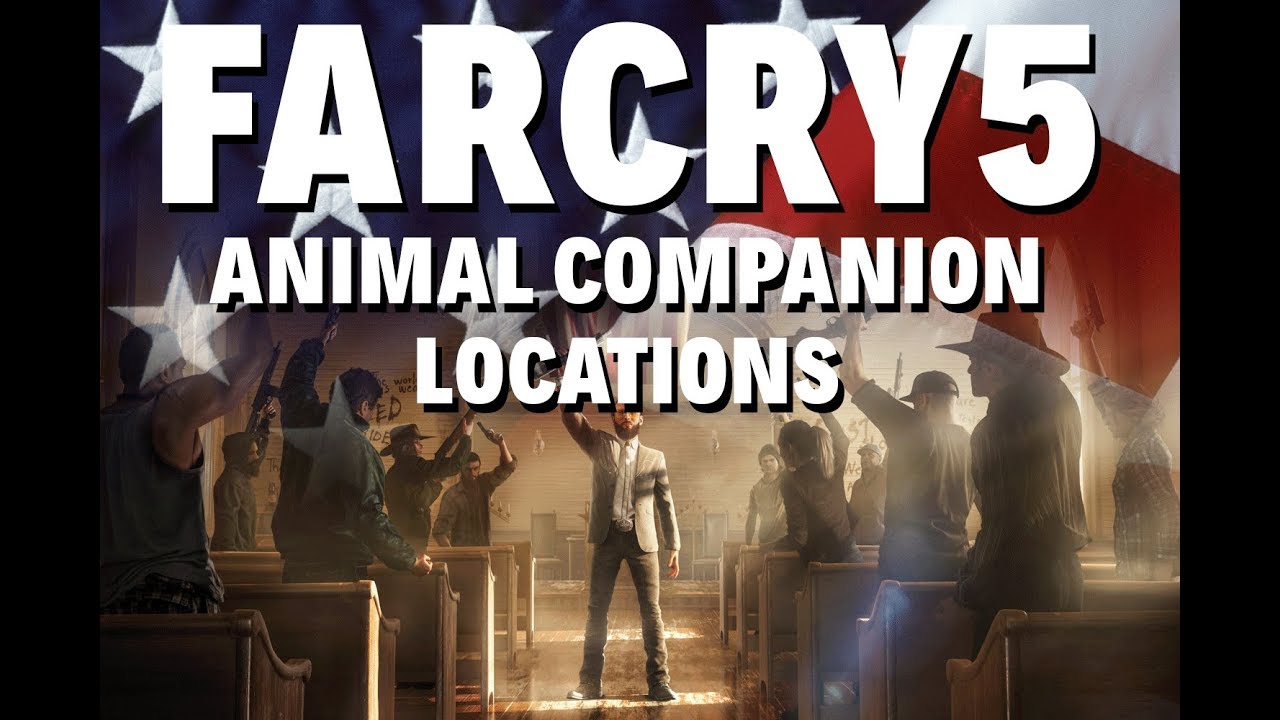 Far Cry 5: All Animal Companions Guide | Where To Get The