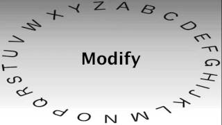 Spelling Bee Words and Definitions — Modify