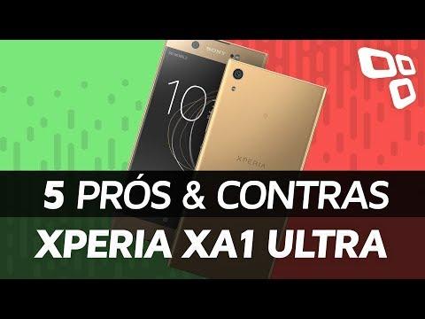 Sony Xperia XA1 Ultra - Prós e Contras - TecMundo