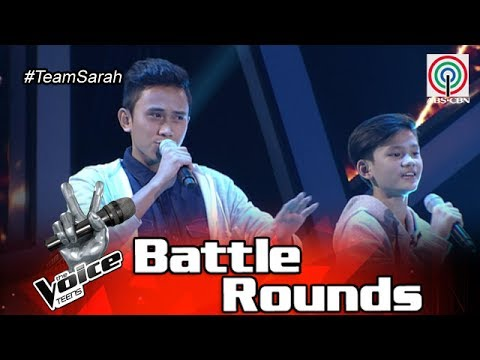 The Voice Teens Philippines Battle Round: Johann vs. Ivan - One Call Away