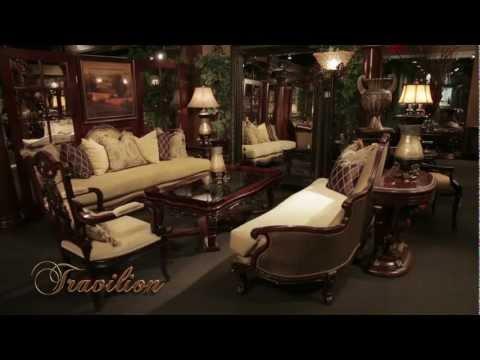 Travilion | Living Room | Baroque Formal Sofa