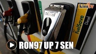 RON97 price up 7 sen; RON95, diesel prices unchanged