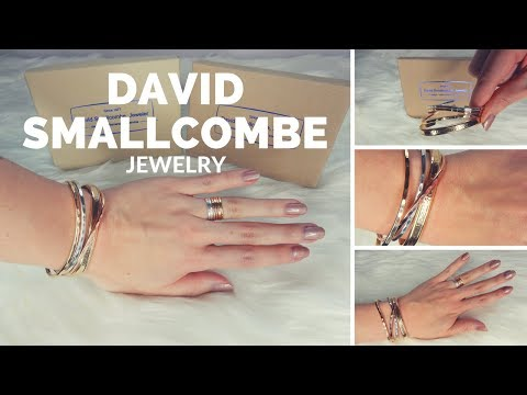David Smallcombe Jewelry Review | Cuff Bracelets, Hoop Earrings & Stacking Rings