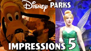 Disney Parks Impressions Compilation #5