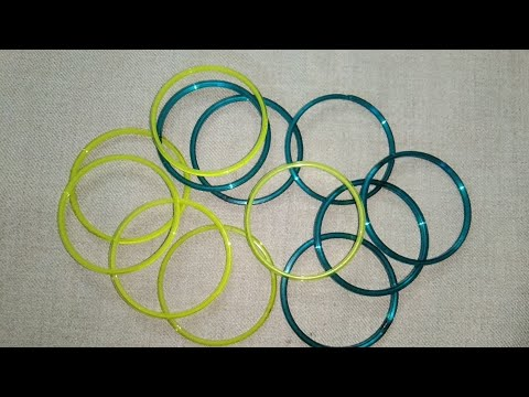 Best out of waste with old Bangle's//cool craft idea
