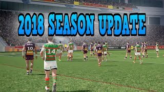 RUGBY LEAGUE LIVE 4 - 2018 SEASON UPDATE