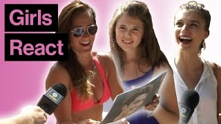 Girls React… To Cristiano Ronaldo Then And Now