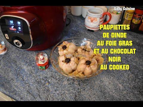 paupiettes-de-dinde-au-foie-gras-et-au-chocolat-noir-au-cookeo-|-sally-cuisine-{Épisode-100}