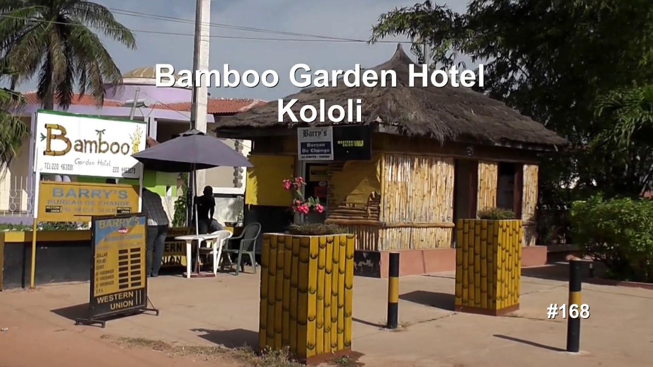 Bamboo Garden Hotel.Kololi, Gambia, - YouTube