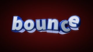 Cinema 4D Tutorial - Bouncing Text [part 1]