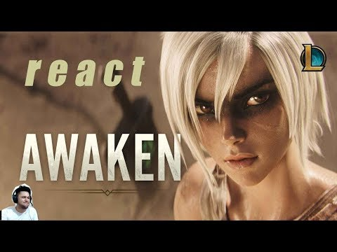 (REACT) Awaken (ft. Valerie Broussard)   League of Legends Cinematic thumbnail