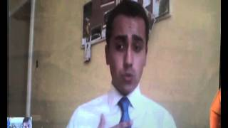 Ponza d'Autore 2014 - David Parenzo intervista Luigi Di Maio (M5S)