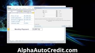 Car Payment Calculator Microsoft Excel Car Payment Calculator Spreadsheet