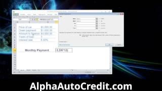 Car Payment Calculator Microsoft Excel Car Payment Calculator Spreadsheet