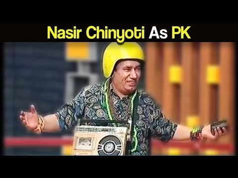 Nasir Chinyoti As PK – Khabardar with Aftab Iqbal