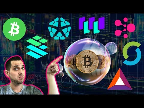 "Bitcoin Debate: Bubble Or The Future? Crypto Island 🌴$BCH Nodes Left Behind! $WTC ""Smart Stores"""