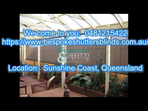 Bespoke Shutters Blinds Sunshine Coast