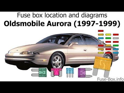 Fuse box location and diagrams: Oldsmobile Aurora (1997-1999) - YouTubeYouTube