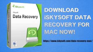 iSkysoft Data Recovery - Get the Best Alternative to Recuva for Mac OS X El Capitan