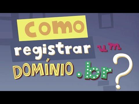 Como registrar um domínio .br?