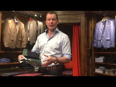 Hawkes Bespoke Outfitters - Suit Fabrics 101: Cashmere