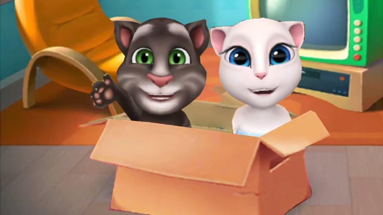 My Talking Tom Kid and My Talking Angela Baby Gameplay – Baby Positon Leve 1