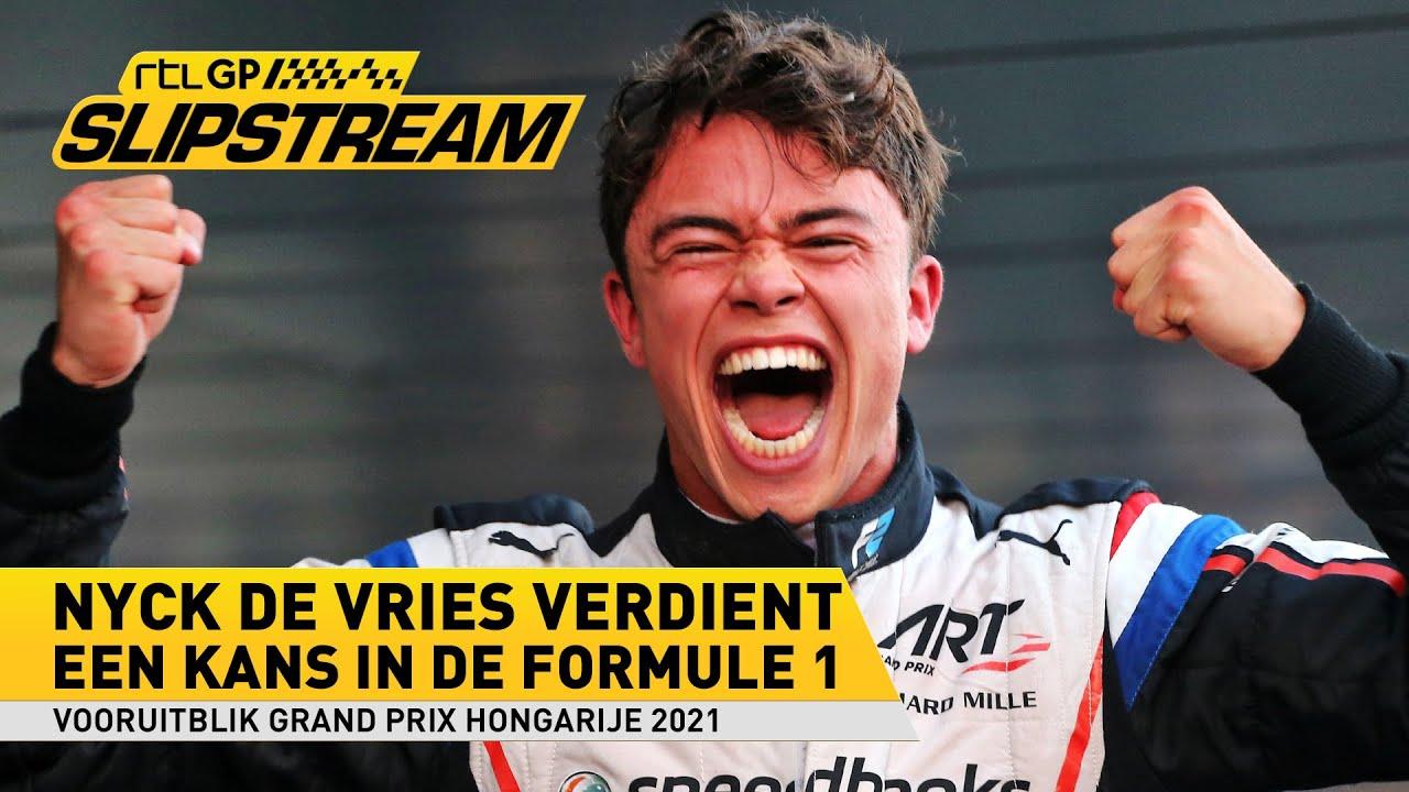 Nyck de Vries verdient een kans in de Formule 1 | SLIPSTREAM